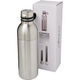 Koln 590 ml koper vacuüm geïsoleerde drinkfles Zilver