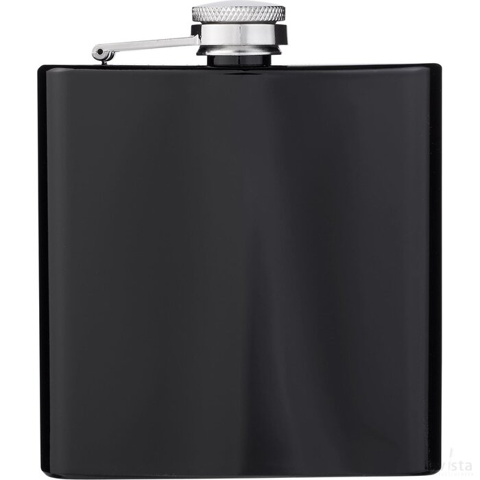 Elixer 175 ml heupfles Zwart