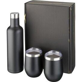Pinto en Corzo koper vacuüm geïsoleerde geschenkset Zwart