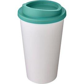 Americano® 350 ml geïsoleerde beker Wit,aqua