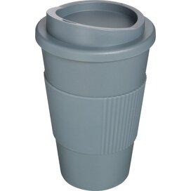 Americano® 350 ml geïsoleerde beker met grip Grijs