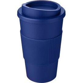 Americano® 350 ml geïsoleerde beker met grip blauw