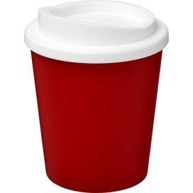 Americano® espresso 250 ml geïsoleerde beker Rood,Wit