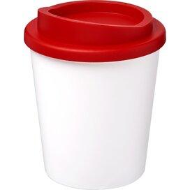 Americano® espresso 250 ml geïsoleerde beker Wit,Rood