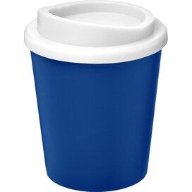 Americano® espresso 250 ml geïsoleerde beker blauw,Wit