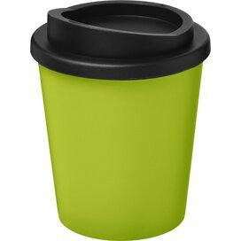 Americano® espresso 250 ml geïsoleerde beker Lime,Zwart