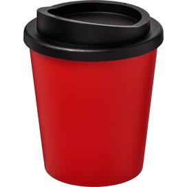 Americano® espresso 250 ml geïsoleerde beker Rood,Zwart