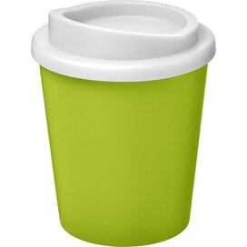 Americano® espresso 250 ml geïsoleerde beker Lime,Wit