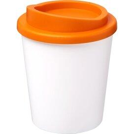 Americano® espresso 250 ml geïsoleerde beker Wit,Oranje