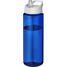 H2O Vibe 850 ml sportfles met tuitdeksel blauw,Wit