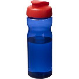 H2O Eco 650 ml sportfles met kanteldeksel koningsblauw,Rood