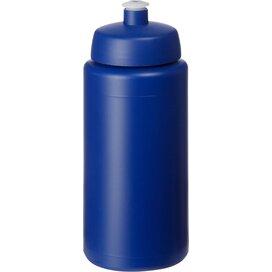 Baseline® Plus grip 500 ml sportfles met sportdeksel blauw
