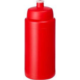Baseline® Plus grip 500 ml sportfles met sportdeksel Rood