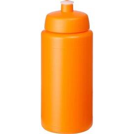 Baseline® Plus grip 500 ml sportfles met sportdeksel Oranje