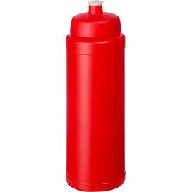Baseline® Plus grip 750 ml sportfles met sportdeksel Rood