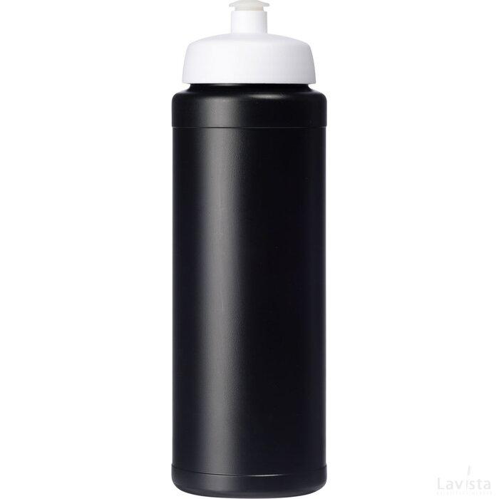 Baseline® Plus 750 ml drinkfles met sportdeksel Zwart,Wit