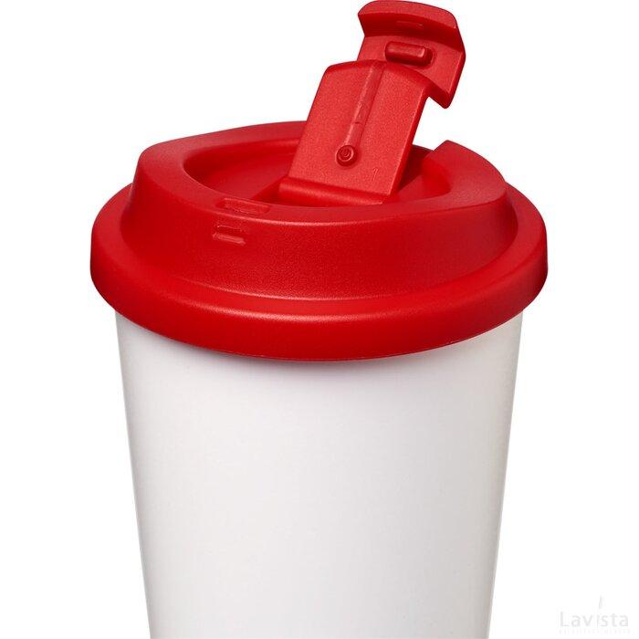 Americano® 350 ml geïsoleerde morsvrije beker Rood