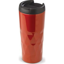 Thermobeker diamant 450ml Rood