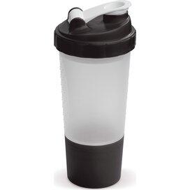 Shaker compartiment 500ml Transparant Zwart