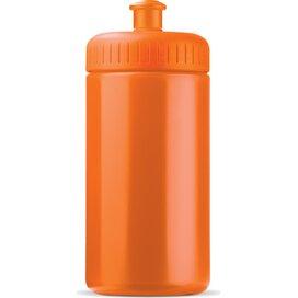 Sportbidon basic 500ml Oranje