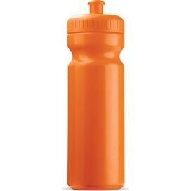 Sportbidon basic 750ml Oranje