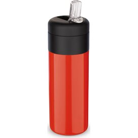 Flow thermo drinkfles 400ml Rood