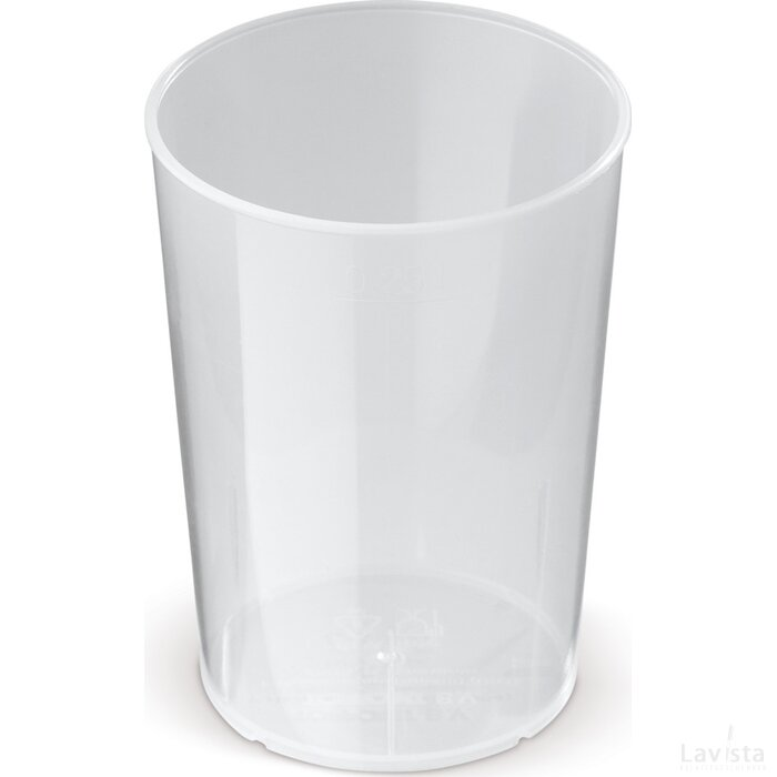 ECO cup 250ml Transparant