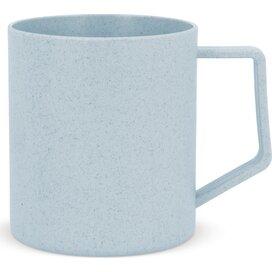 Plantvezel mok 350ml Pastel blauw