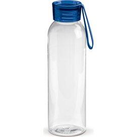 Tritan drinkfles 600ml Transparant Blauw