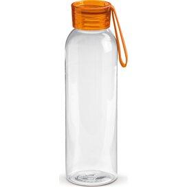 Tritan drinkfles 600ml Transparant Oranje