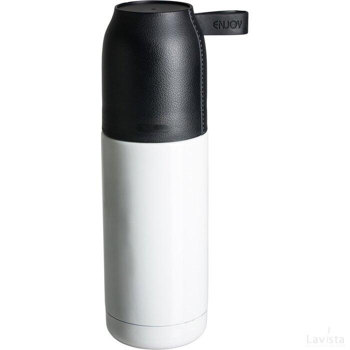 Thermofles Retumbler-Osorno zwart, wit