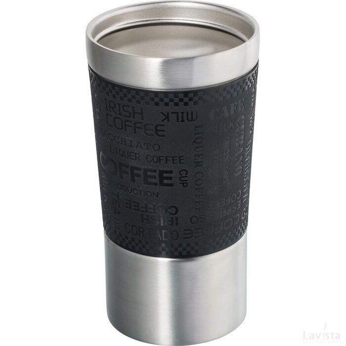 Thermobeker Retumbler-Kingston zwart, zilver