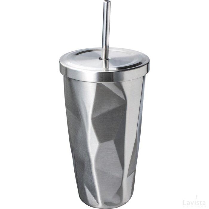 Thermobeker Retumbler-Bangkok zilver